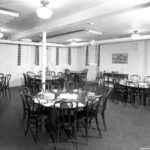 The dining room at the original O-School