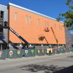Construction underway at the new O-School building